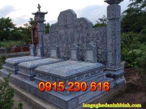 Mộ đá thiên chúa giáo ở Nam Định