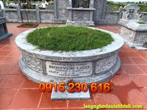 Mộ đá tròn ở Hưng Yên
