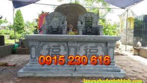 Địa chỉ lắp đặt mộ đá ở Nam Định