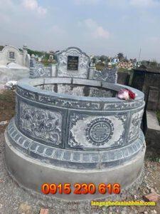 Mộ tròn ở Thái Bình