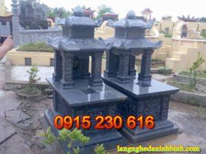 Mộ đá đôi ở Ninh Bình