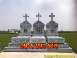 Mộ đá công giáo ở Vĩnh Phúc