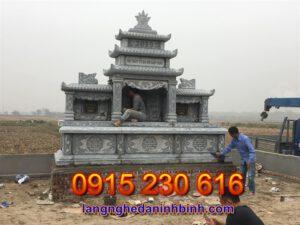 Mộ ba mái ở Quảng Ninh