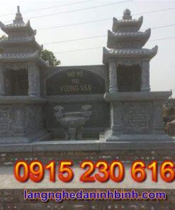 Mộ ba mái ở Thái Nguyên