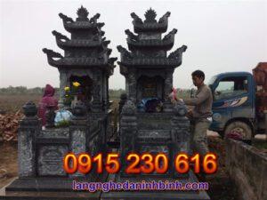 Mộ ba mái ở Vĩnh Phúc