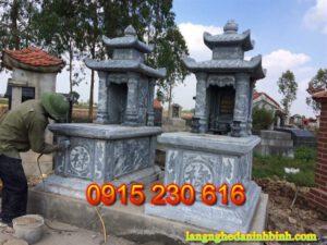 Mộ hai mái ở Thái Bình