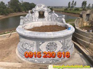 Mộ tròn ở Ninh Bình