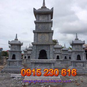 Tháp mộ ở Cần Thơ