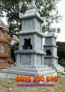 Tháp mộ ở Long An