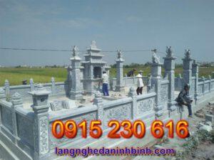 Khu lăng mộ đá đẹp tại Bắc Ninh