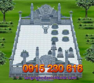 Khu lăng mộ đá đẹp tại Hà Nam