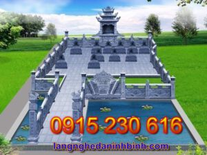 Khu lăng mộ đá đẹp tại Hà Nội