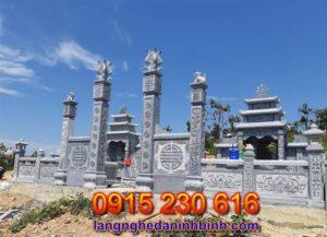 Khu lăng mộ đá đẹp tại Hưng Yên