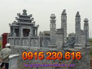 Khu lăng mộ đá đẹp tại Nam Định