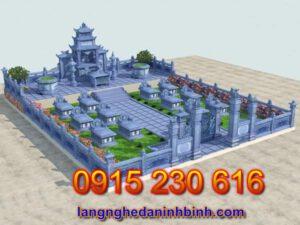 Khu nghĩa trang gia đình ở Bắc Giang