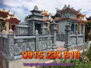 Khu nghĩa trang gia đình ở Lạng Sơn