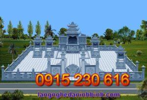 Khu nghĩa trang gia đình ở Quảng Ninh