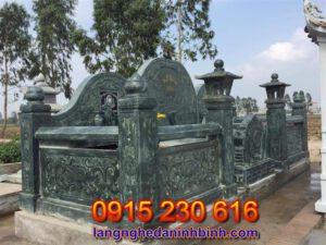 Khu nghĩa trang gia đình ở Thái Bình