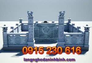 Khu nghĩa trang gia đình ở Thái Nguyên