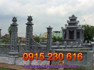 Khu nghĩa trang gia đình ở Vĩnh Phúc