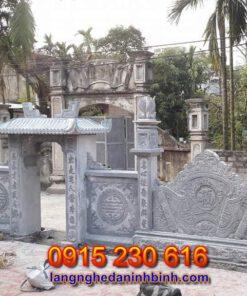 Mẫu cổng nhà thờ họ tại Nghệ An