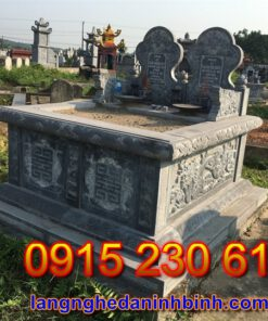 Mẫu mộ đôi đẹp tại Hà Tĩnh