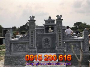 Nghĩa địa gia đình bằng đá