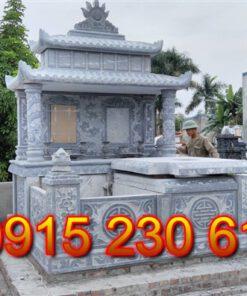 Mẫu mộ đá đẹp đơn giản ở Bình Phước