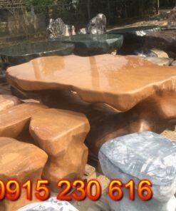 Bàn ghế đá tự nhiên-1