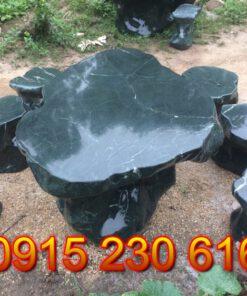 Bàn ghế đá tự nhiên cao cấp PL01