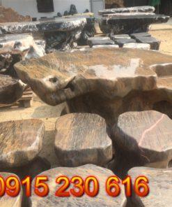 Bộ bàn ghế đá sân vườn-2