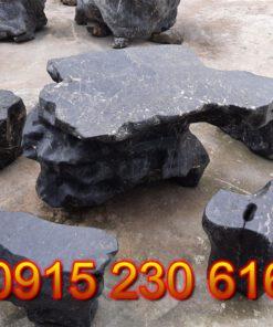 Mẫu bàn ghế đá đẹp -PL01