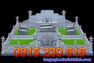 Khu lăng mộ đá gia đình cao cấp 22