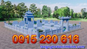 Khu nghĩa trang gia đình cao cấp 22