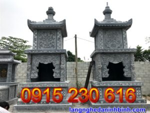 Mẫu mộ tháp đá ở Lâm Đồng