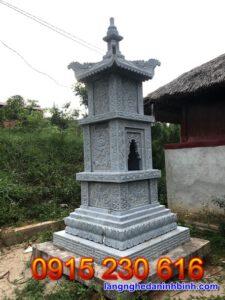Mẫu mộ tháp đẹp 13.5