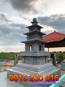 Mộ tháp đá đẹp tại Cần Thơ