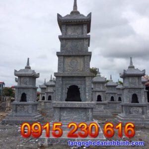 Mộ tháp đá 13.5