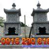 Mộ tháp đá đẹp tại Bạc liêu