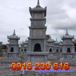 Mộ tháp đá đẹp tại Sóc Trăng
