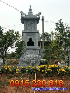Mộ tháp đá đẹp tại Vĩnh Long