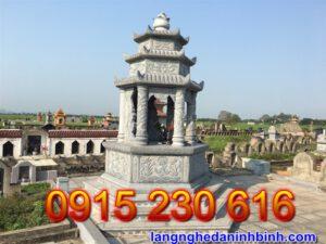 Tháp mộ đá đẹp tại An Giang