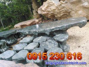 Bàn ghế đá tự nhiên – Mẫu bộ bàn ghế đá biệt thự sân vườn đẹp