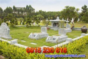 Mẫu nghĩa trang đẹp hiện đại